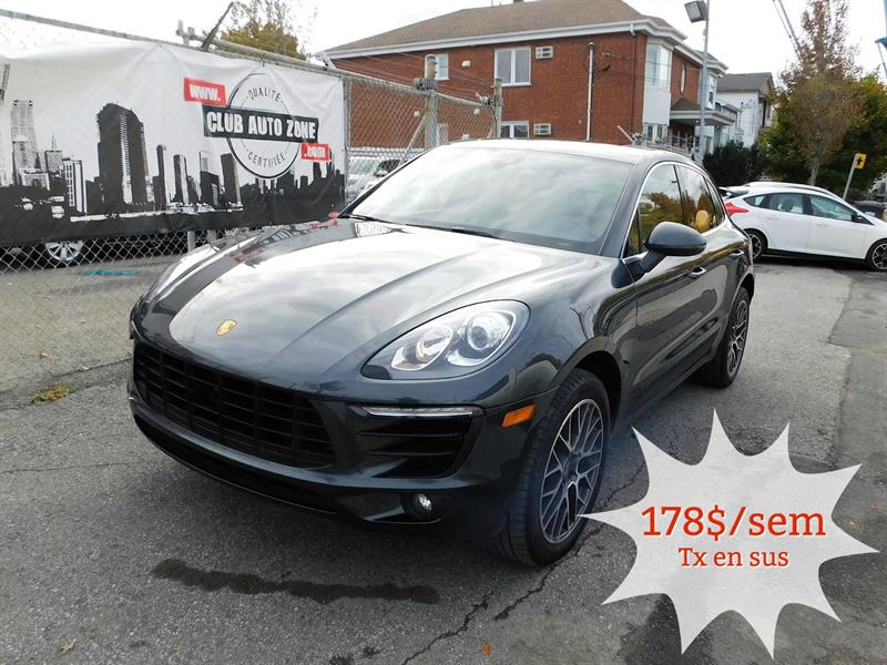 2017 Porsche Macan S AWD TOIT PANORAMIQUE CARPLAY BLUETOOTH #HLB11135