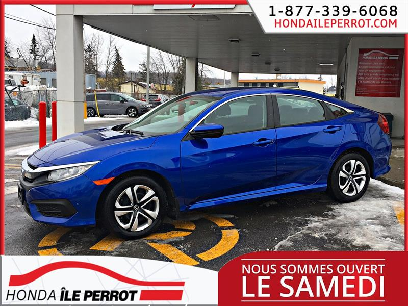 Honda Civic Sedan 2017 4dr CVT LX #44808