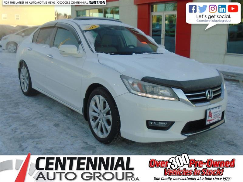 2015 Honda Accord Sedan Touring | Bluetooth | Backup Camera | Moon Roof | #U1835A