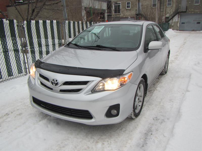 Toyota Corolla 2012 FINANCEMENT MAISON $45 SEMAINE #S2163 * CERTIFIÉ*