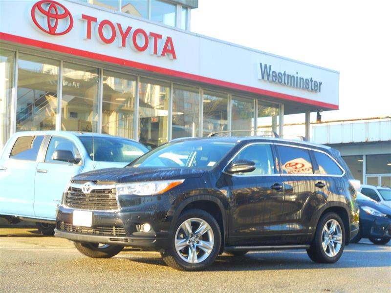 2016 Toyota Highlander Limited AWD #P6772T