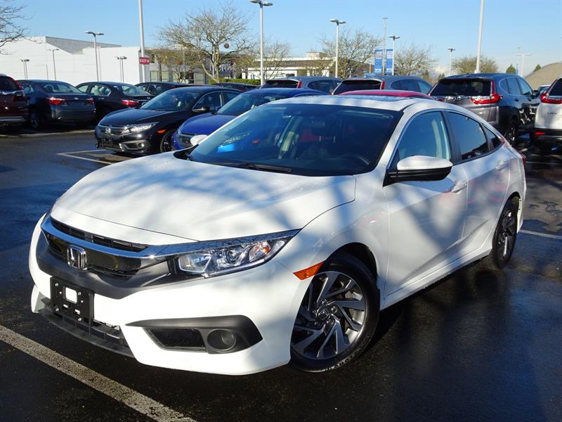 2017 Honda Civic Sedan EX CVT! Honda Certified Extended Warranty to #LH8495