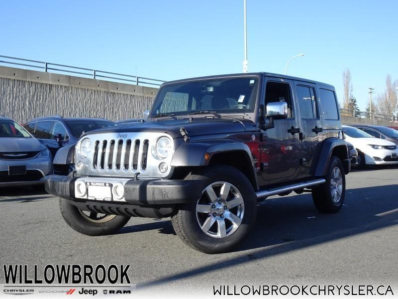 2014 Jeep Wrangler Unlimited Sahara #18J361A