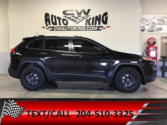 2015 Jeep Cherokee Sport / Low K / 4x4 / Heated Seats-Steering #20042346