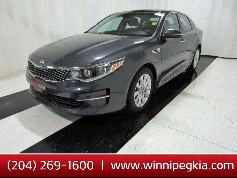 2016 Kia Optima HEATED & COOLED SEATS, NAV #16KO05619