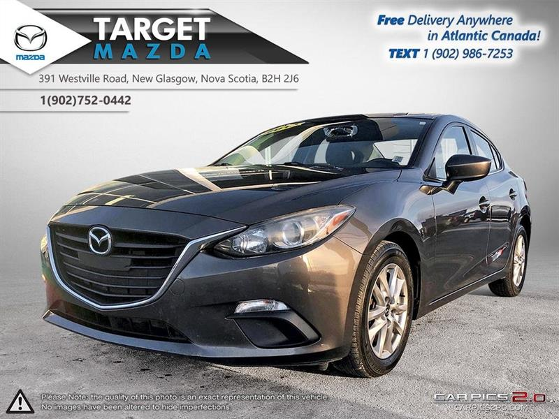 2014 Mazda mazda3 $52/WK TAX IN! AUTO! A/C! HEATED SEATS! #U5328