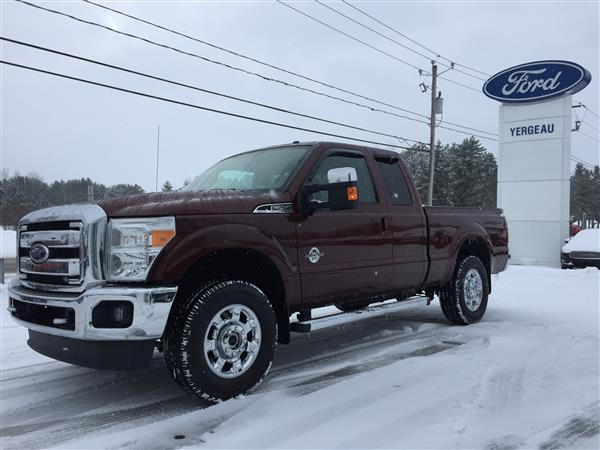 2015 Ford F250 LARIAT SUPERCAB DIESEL 4X4 #001550