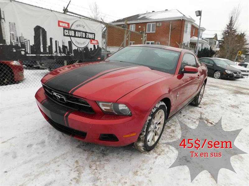 Ford Mustang 2010 COUPÉ V6 AUTOMATIQUE BLUETOOTH #A5103238