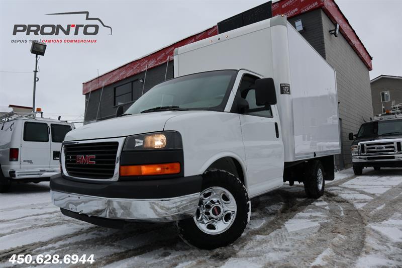 GMC Savana Commercial Cutaway 2012 3500 Cube 12 pieds ** Voir équipement ** #1746