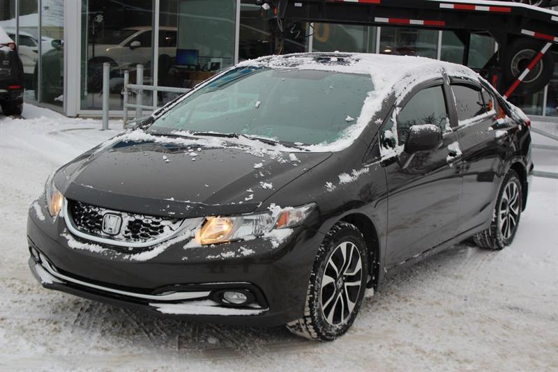 Honda Civic Sdn 2013 EX*TOIT OUVRANT*CAM RECUL*AC*BLUETOOTH*SIEGES CHAU #3330A