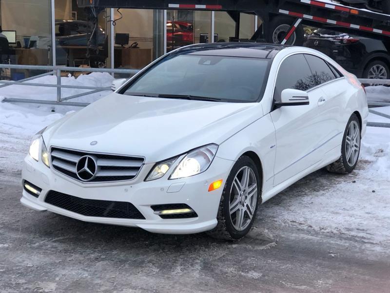 Mercedes-Benz E Class 2012 E350 * TOIT PANO*CUIR BRUN*CAMERA RECUL*BI-ZONES* #3213B