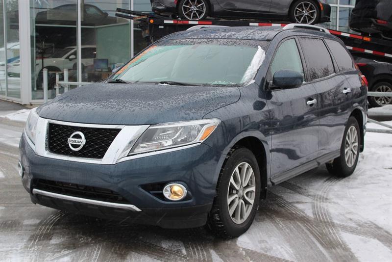 Nissan Pathfinder 2015 4X4*BLUETOOTH*7PASS*SIEGES CHAUFF*BI-ZONE*CAMERA* #218516A