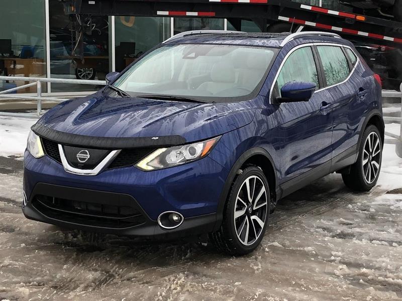Nissan Qashqai 2017 SL*GPS*CAMERA 360*TOIT*CUIR*AWD*SIEGE CHAUF*BLUETO #3316A