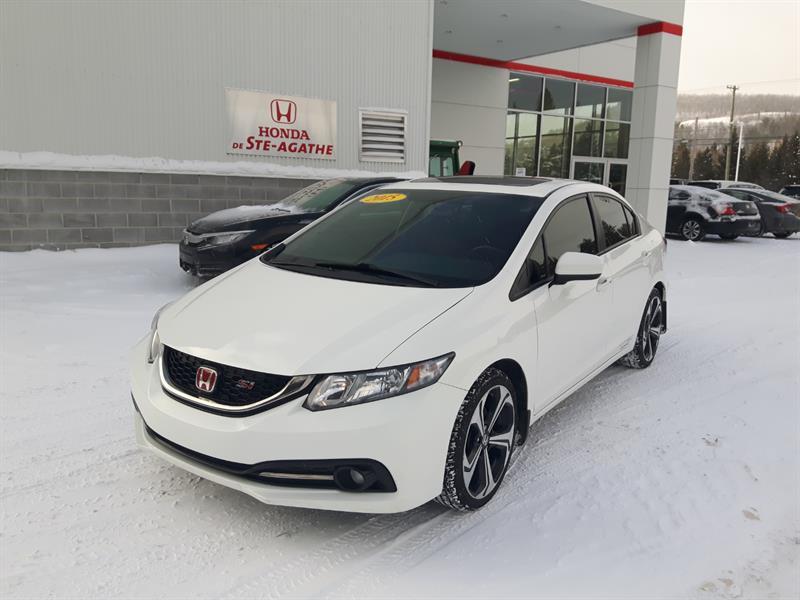 Honda Civic 2015 4dr Man Si, *200 Hp, manuelle 6 vit., I-Vtec**  #p9364