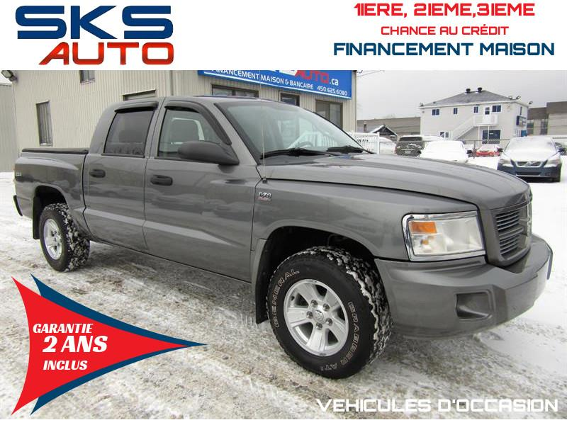 Dodge Dakota 2009 4x4 SXT (GARANTIE 2 ANS INCLUS) #SKS-4292