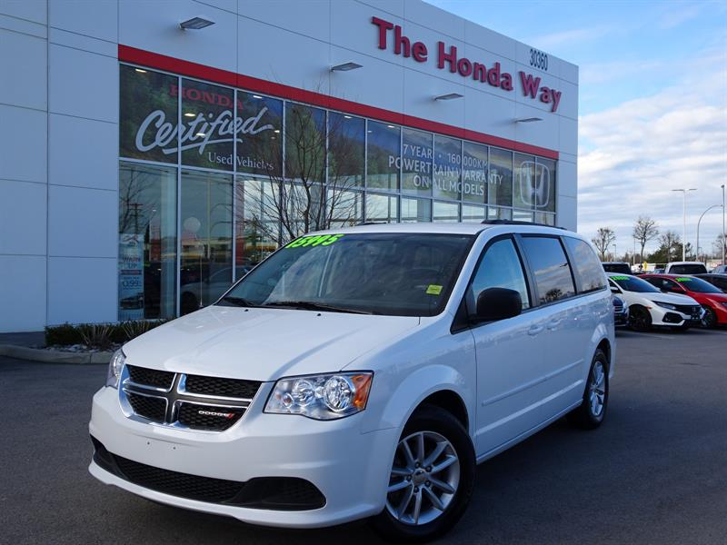 2016 Dodge Grand Caravan SE - BLUETOOTH, B/U CAMERA, ENT. SYSTEM, ROOF RAIL #19-21A