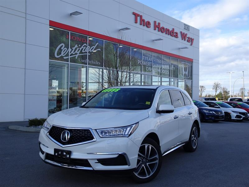 2018 Acura MDX SH-AWD 9-Spd AT w/Tech Package - WINDOW TINT, LEAT #P5301