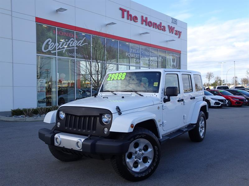 2014 Jeep Wrangler Unlimited Sahara 4WD - BLUETOOTH, HEATED FRONT SEA #19-160A