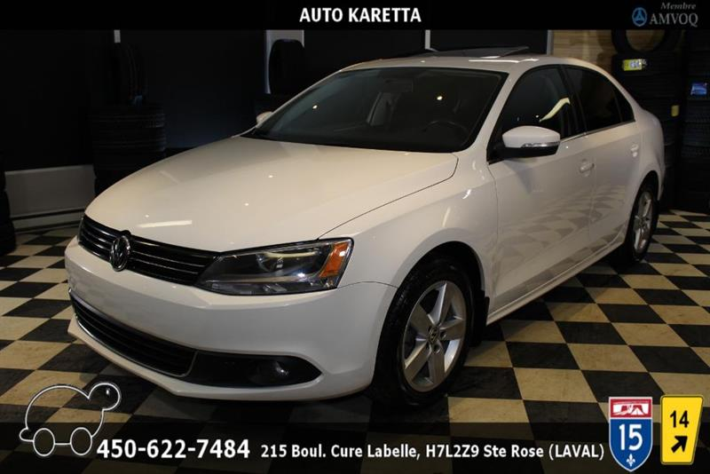 Volkswagen Jetta 2014 2.0 TDI COMFORTLINE, TOIT OUVRANT, BLUETOOTH, MAGS #AS8236