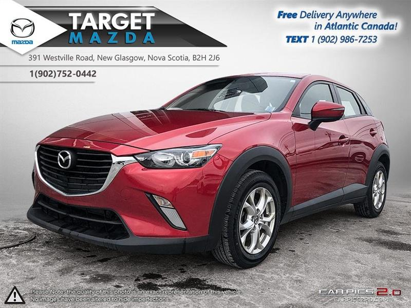 2016 Mazda CX-3 AWD! GS! ONE OWNER! HEATED SEATS! NEW TIRES! #U5875