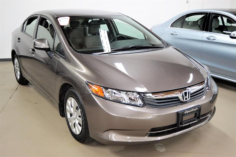 2012 Honda Civic Sedan LX at #GS8634XA