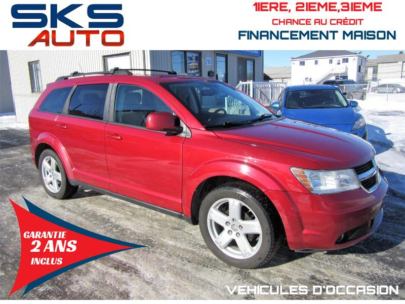 Dodge Journey 2010 SXT 7 PASSAGERS (GARANTIE 2 ANS INCLUS) #SKS-4297
