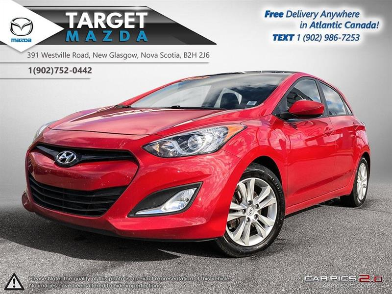 2013 Hyundai Elantra Gt $52/WK TAX IN! AUTO! HEATED SEATS! RIMS! S.ROOF! #U4835