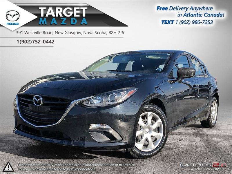 2016 Mazda 3 Sport AUTO! A/C! LOW KMS! ONE OWNER! NEW TIRES! #U5148