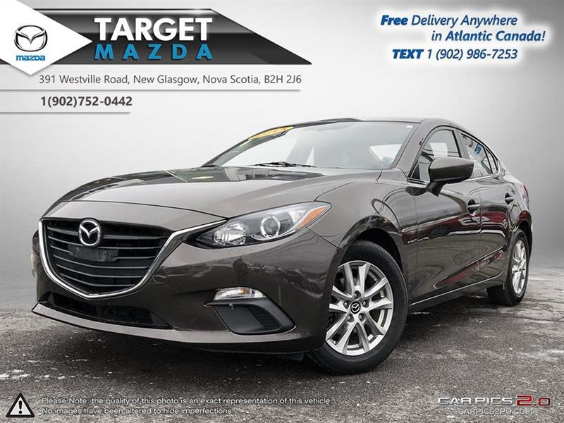 2015 Mazda mazda3 GS! AUTO! BACKUP CAM! HEATED SEATS! NEW TIRES! #U1152