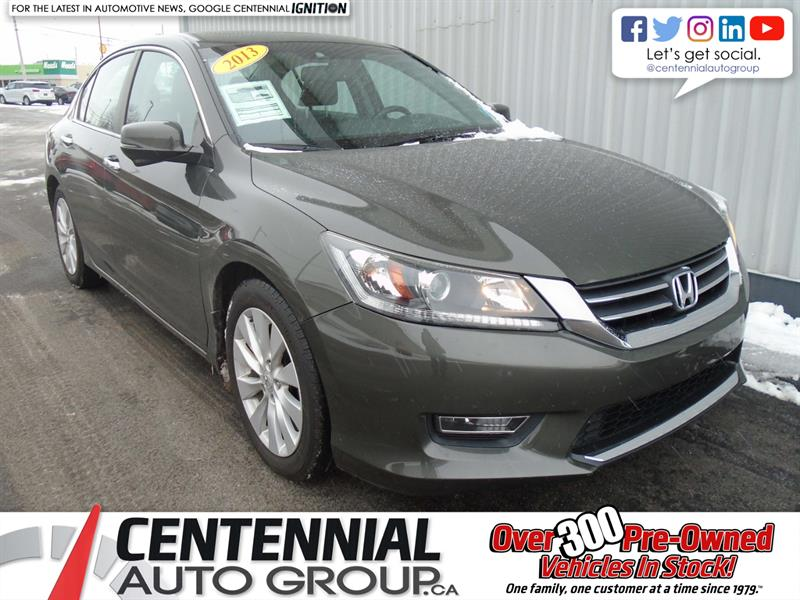 2013 Honda Accord Sedan EX-L | Leather | Sunroof #U811A