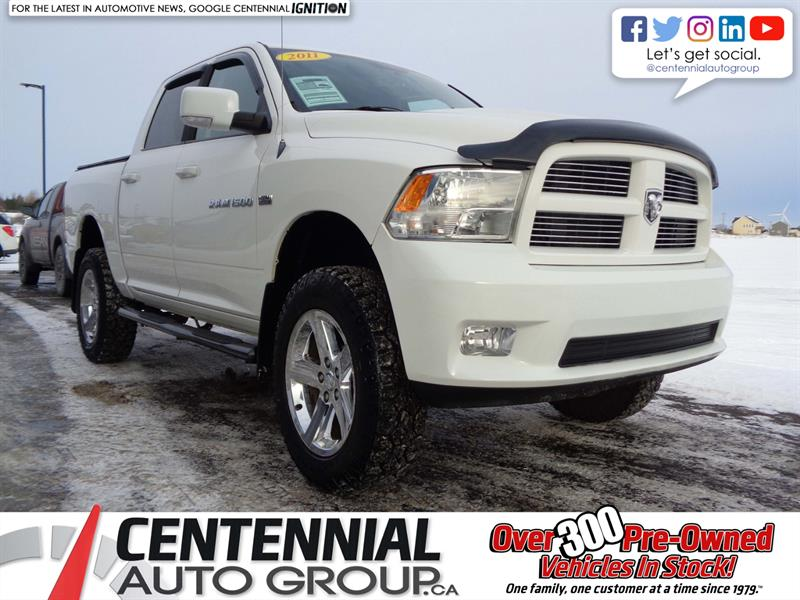 2011 Ram 1500 Sport | 4WD | Looks Awesome | #S18-095C