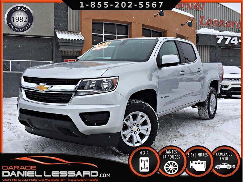 Chevrolet Colorado 2019 LT, 4WD, CREW, BTE 5',*  PAS VGA *  #99030