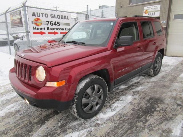 Jeep Patriot 2011 4WD,NORTH-ÉDITION,TOIT OUVRANT, #19-074