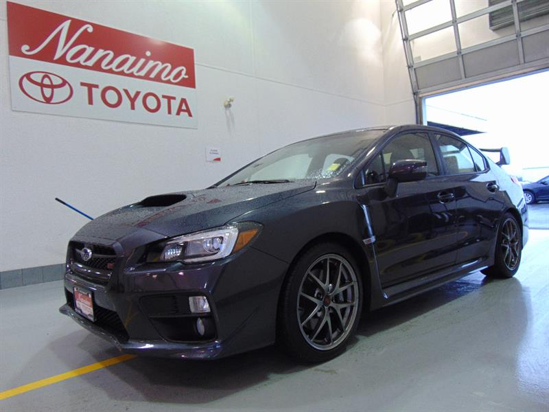 2016 Subaru Wrx Sti Sport Tech 6-Speed Manual #20502A