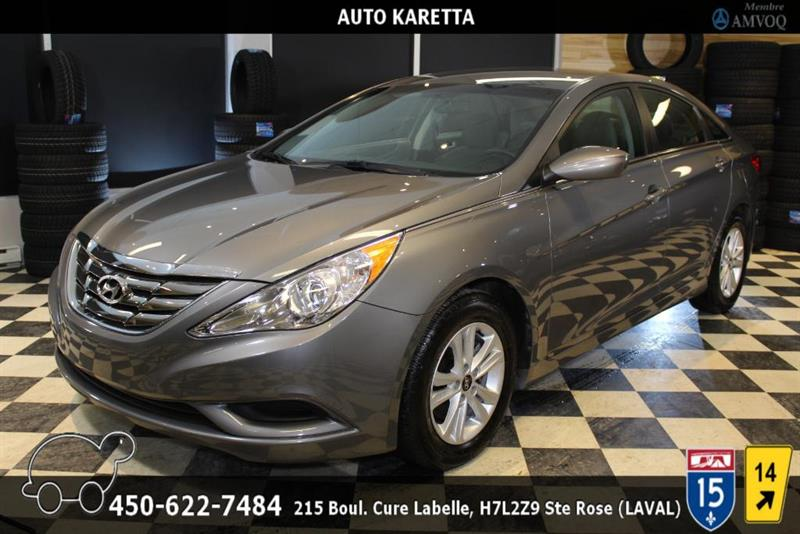Hyundai Sonata 2013 GLS, BLUETOOTH, SIEGES CHAUFFANT, A/C, MAGS #AS8256A