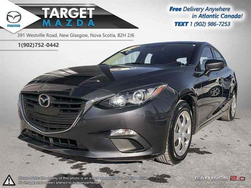 2015 Mazda 3 Sport ONLY 29K! AUTO! A/C! NEW TIRES! ONE OWNER #U0528