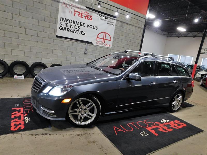 Mercedes-Benz E350 2013 4-MATIC WAGON #2643