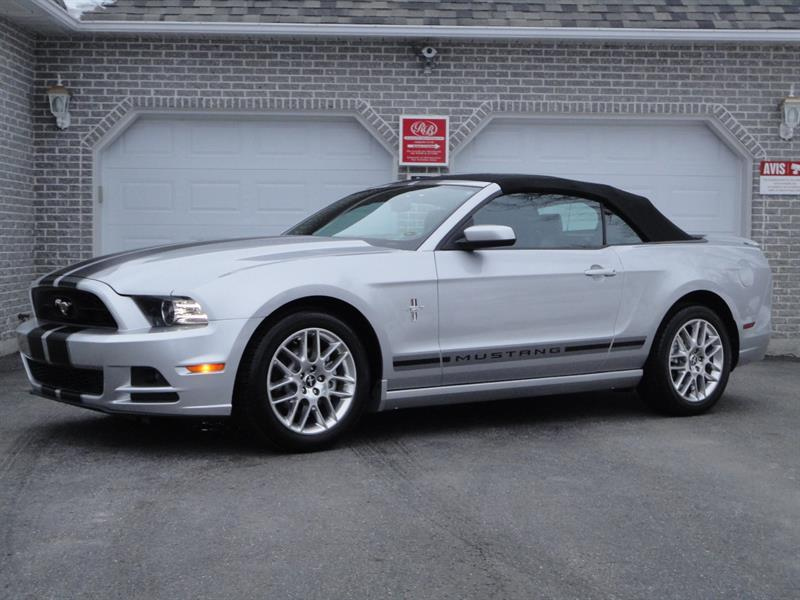 Ford Mustang 2013 2dr Conv V6 Premium PONEY PACKAGE #U604