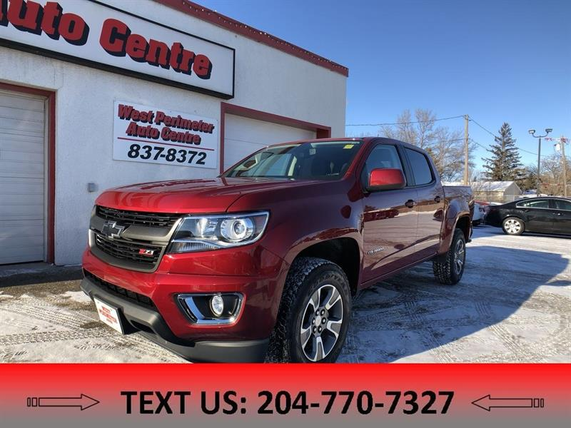 2017 Chevrolet Colorado Z71 4X4 3.6L V6, Apple Car Play, Back-upcam #5496