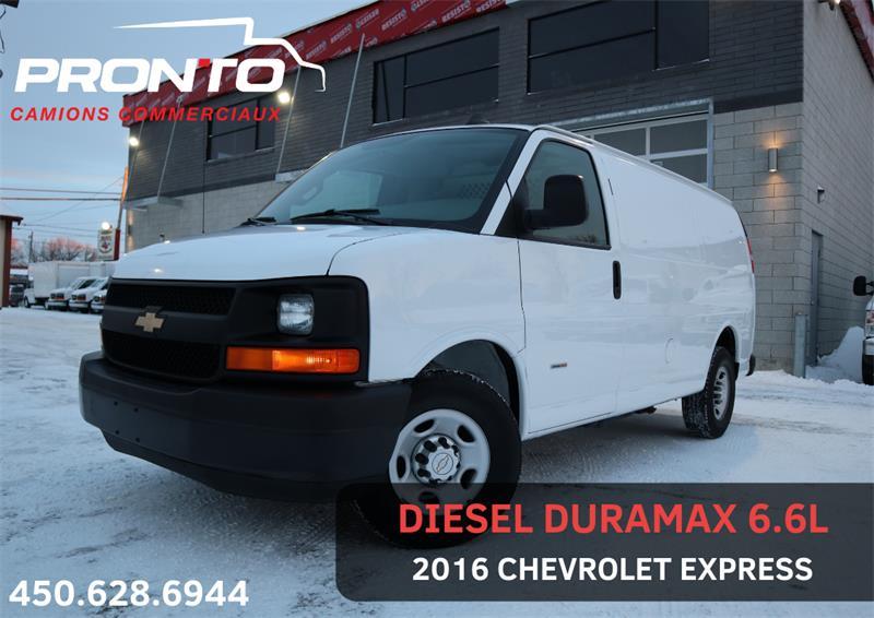 Chevrolet Express Cargo Van 2016 3500 #1750