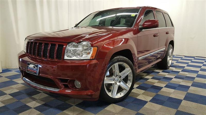 2007 Jeep Grand Cherokee SRT8 AWD/LEATHER/SUNROOF/DVD #13SW02971A