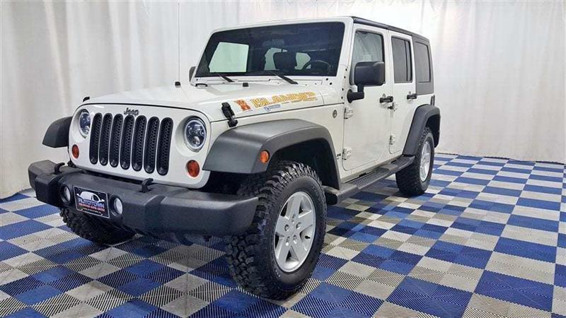 2010 Jeep Wrangler Unlimited Sport 4X4/ALLOY WHEELS #13MC71256A