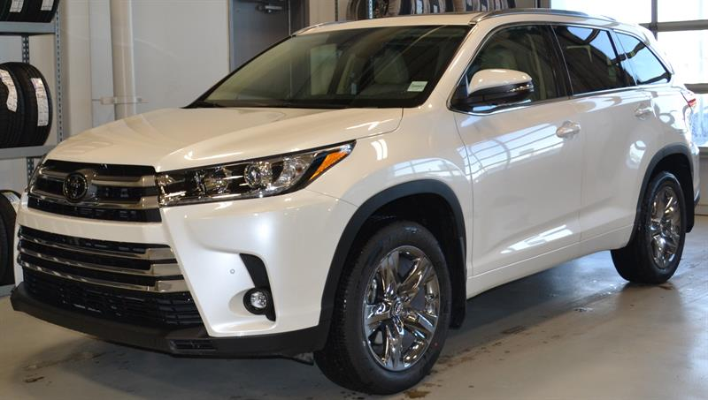 2019 Toyota Highlander AWD Limited #DZ3144