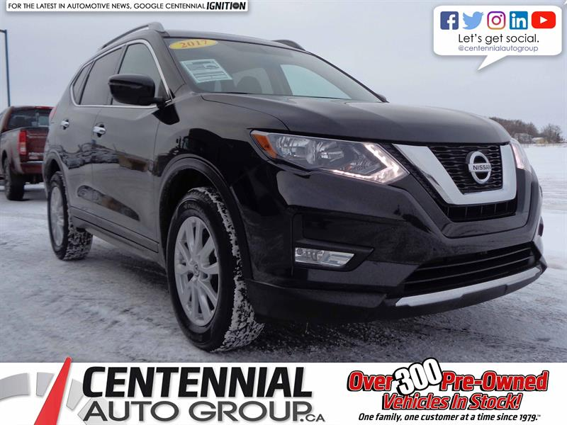 2017 Nissan Rogue SV | AWD | Local Trade | Moonroof | #S17-373A