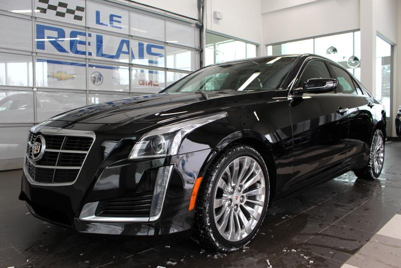 Cadillac CTS Sedan 2014 LUXURY 2.0L TURBO AWD #c803221a