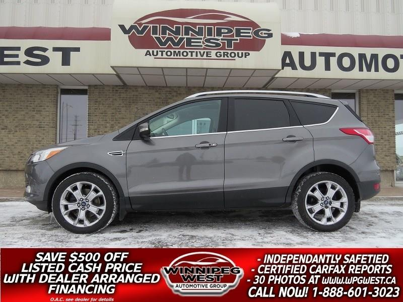 2014 Ford Escape TITANIUM AWD, PAN ROOF, NAV, LEATHER, FULL LOAD! #GNW4808