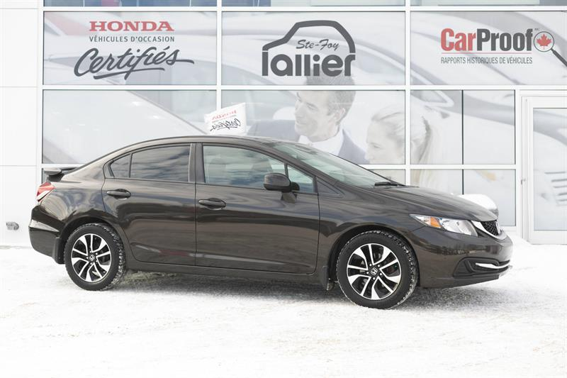 Honda Civic 2013 EX ***GARANTIE 10 ANS/200 000 KM*** #190170A