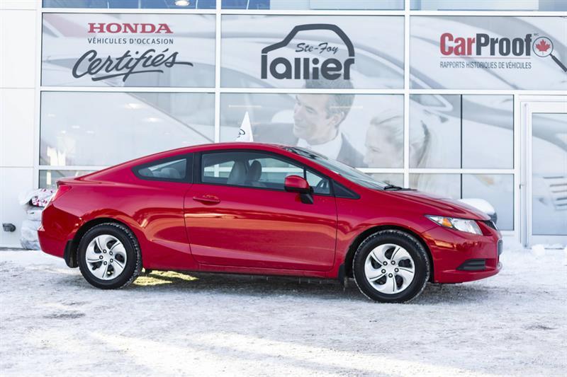 Honda Civic 2013 COUPE, LX ***GARANTIE 10 ANS/200 000 KM* #190197A