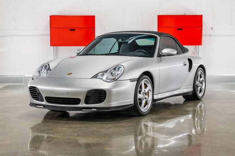Porsche 911 TURBO S CONVERTIBLE 2005 TIPTRONIC S! 450HP! CERAMIC BRAKES!