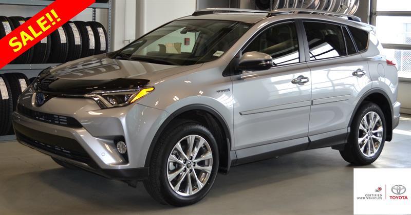 2017 Toyota RAV4 Hybrid Limited #P1247
